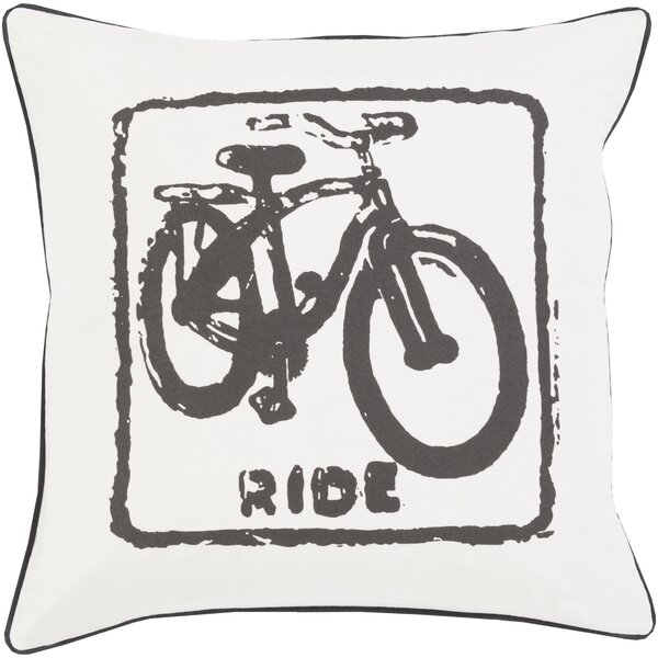 Langston Square 100% Cotton Throw Pillow Cover by Trent Austin Design